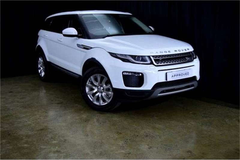 2018 Land Rover Range Rover Evoque 5-door EVOQUE 2.0 SD4 SE