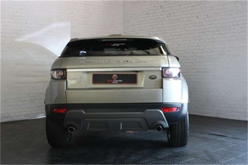 Land Rover Range Rover Evoque coupé Si4 Dynamic 2012