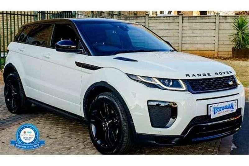 Range Rover Evoque >> 2018 Land Rover Range Rover Evoque Range Rover Evoque Hse Dynamic