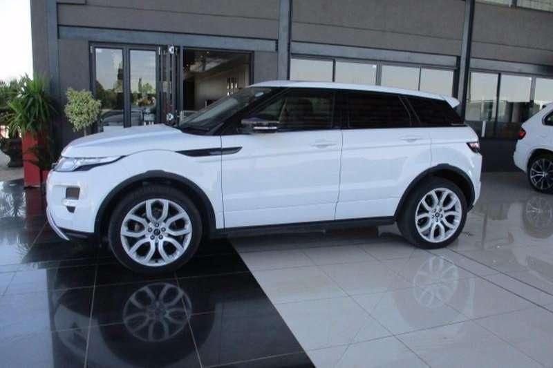 2013 Land Rover Range Rover Evoque Si4 Dynamic
