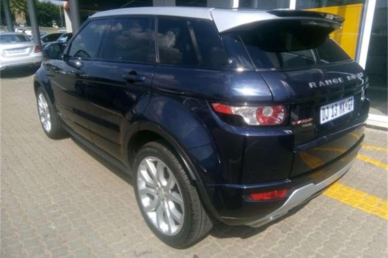 Land Rover Range Rover Evoque SD4 Dynamic 2014