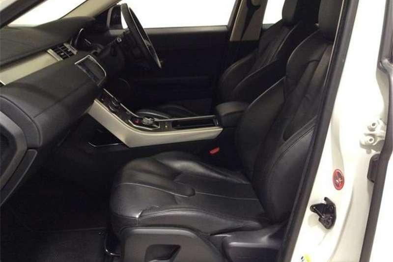 Land Rover Range Rover Evoque Si4 Pure 2014