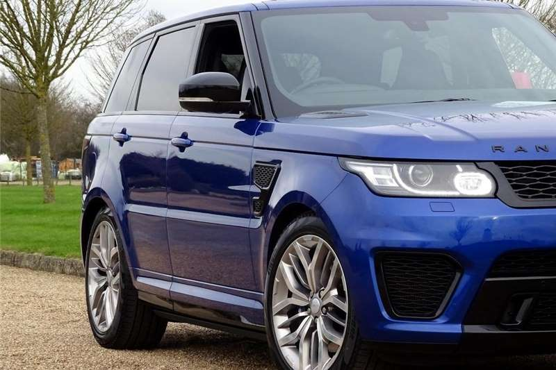 2015 Land Rover Range Rover Sport Range Rover Sport SVR Cars for ...