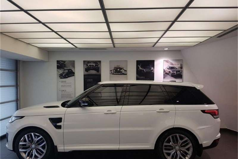 2018 Land Rover Range Rover Sport Range Rover Sport SVR Cars for ...