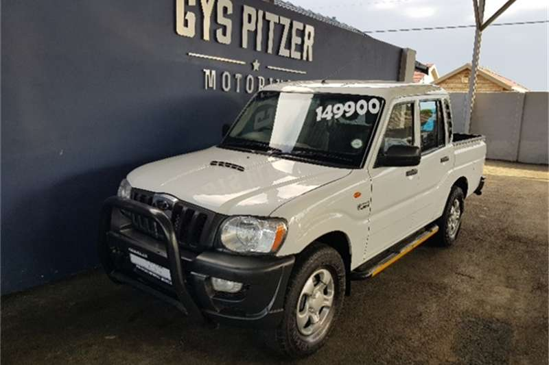 Mahindra Scorpio Pik-up 2.2CRDe double cab 2013