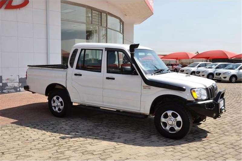 Mahindra Scorpio Pik-up 2.2CRDe Double Cab 2014