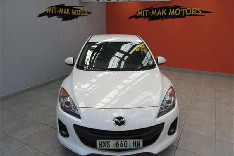 Mazda Mazda3 Sedan 1.6 Active 2012