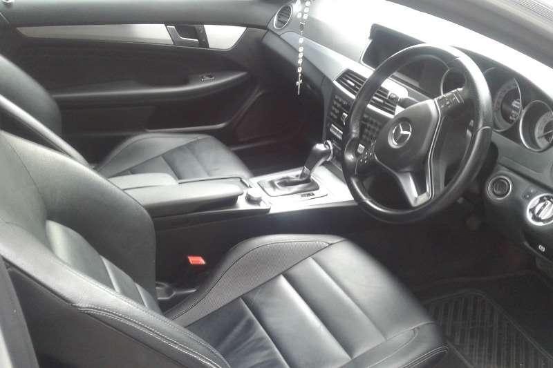 Mercedes Benz C Class C180 coupe auto 2013