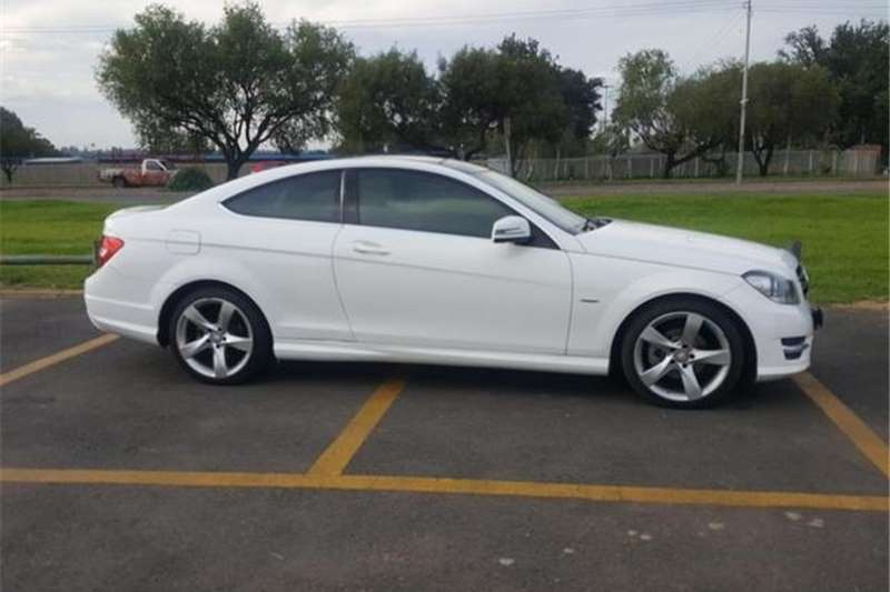 2014 Mercedes Benz C Class C180 Coupe Auto Cars For Sale In Gauteng | R 290  000 On Auto Mart