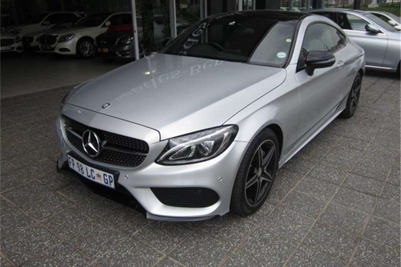 2017 Mercedes Benz C Class C220d Coupe Amg Line Cars For Sale In