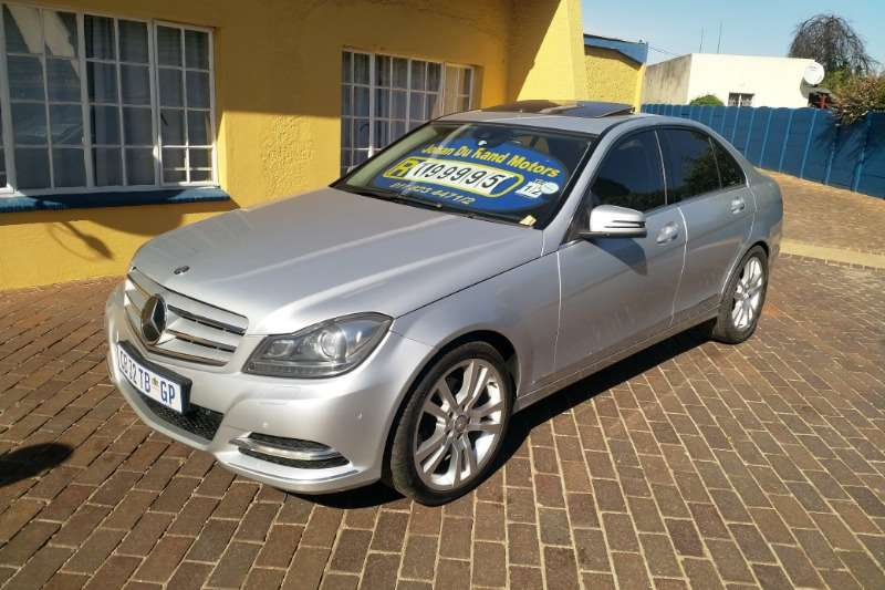 Mercedes Benz C-Class C250 CDI BE AVANTGARDE A/T 2012