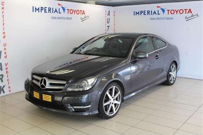 Mercedes Benz C Class C350 coupe AMG Sports 2012