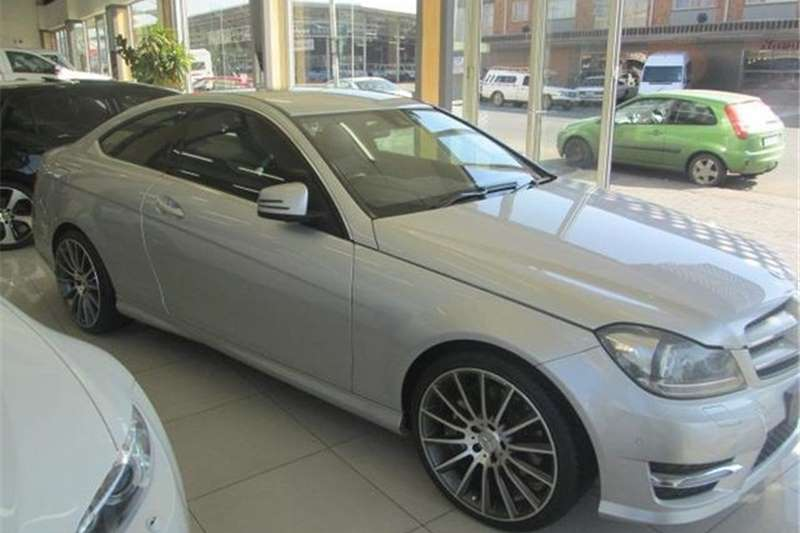 Mercedes Benz C Class C350 Coupe AMG Sports 2013
