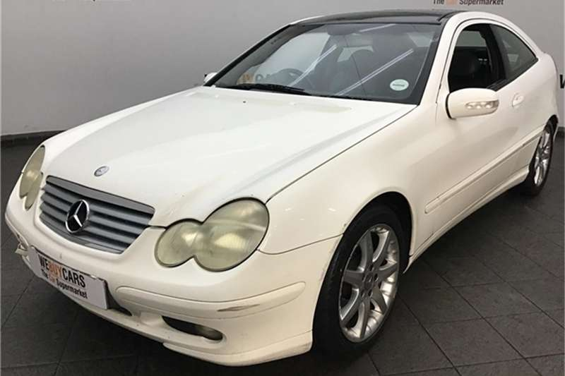 Mercedes Benz C-Class coupe 2002