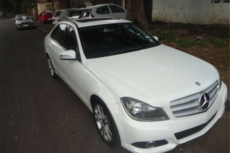2013 Mercedes Benz C Class C180 Avantgarde AMG Sports