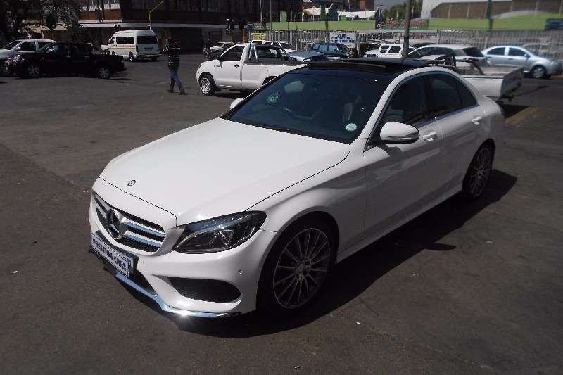 2015 Mercedes Benz C Class C250 BlueTec AMG Sports