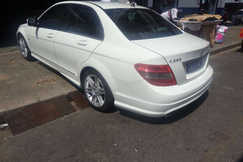 2008 Mercedes Benz C Class C200 Kompressor Avantgarde AMG Sports