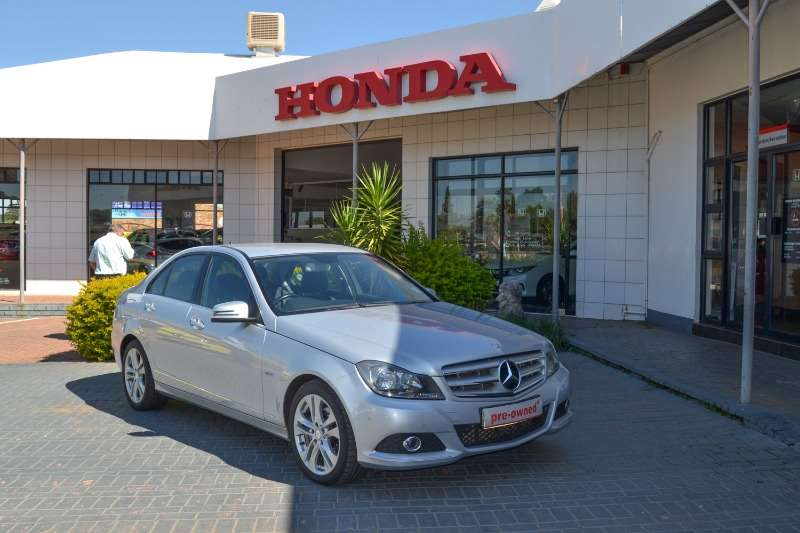 Mercedes Benz C Class Sedan C200 Be Avantgarde A T 2012