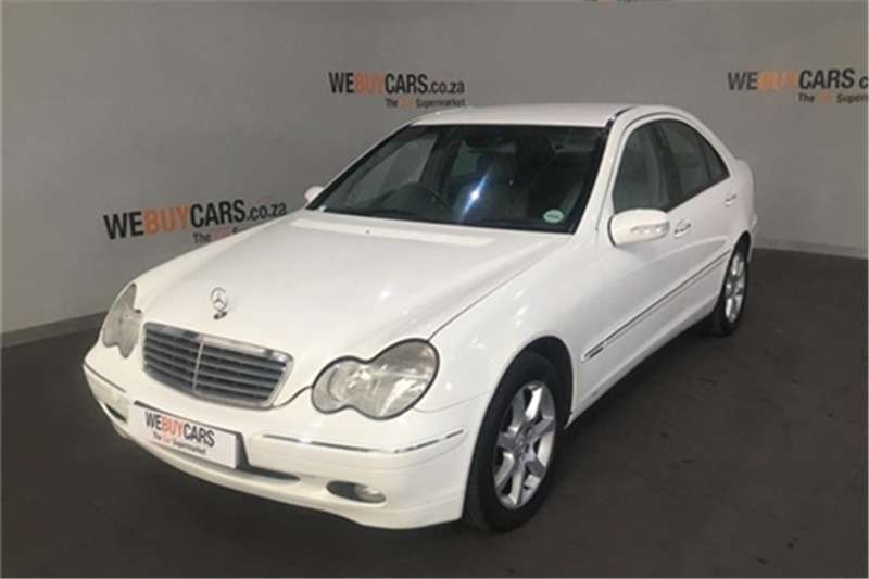 2001 Mercedes Benz C-Class sedan