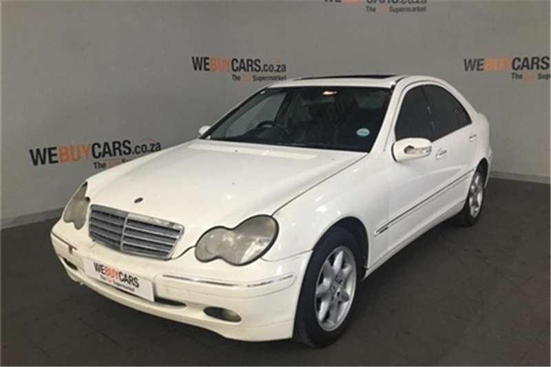 2002 Mercedes Benz C-Class sedan