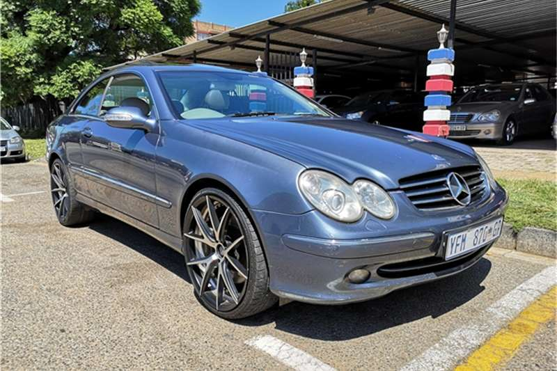 2002 Mercedes Benz CLK