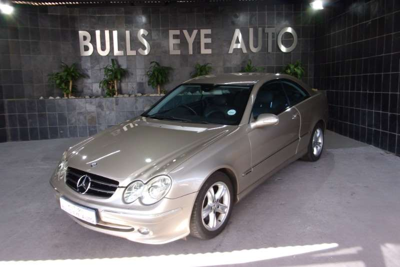 2004 Mercedes Benz CLK 320 coupé Avantgarde