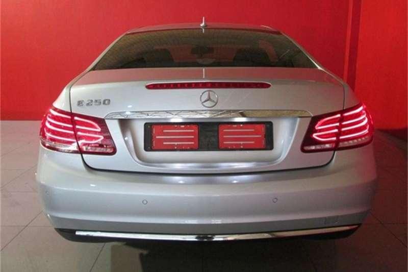 Mercedes Benz E Class E250 Coupe 2014