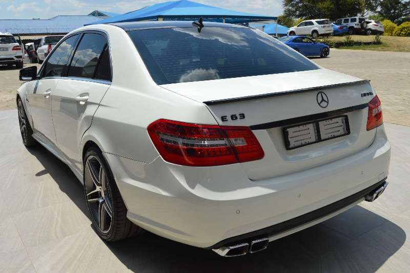 2010 mercedes benz e class e63 amg sedan petrol rwd automatic cars for sale in gauteng. Black Bedroom Furniture Sets. Home Design Ideas