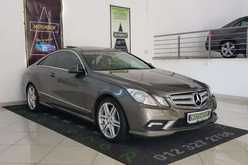 2011 Mercedes Benz E Class E500 coupé Avantgarde