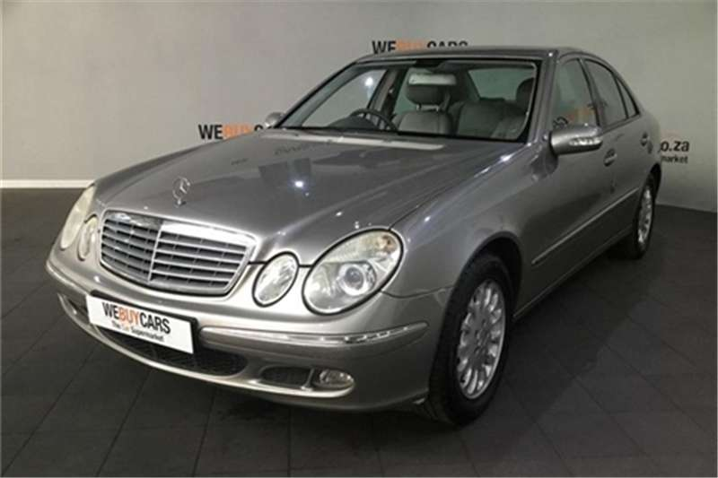 2006 Mercedes Benz E-Class sedan