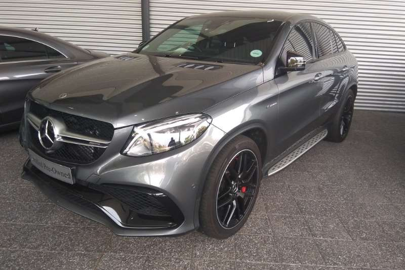 2018 Mercedes Benz GLE 63 S coupe
