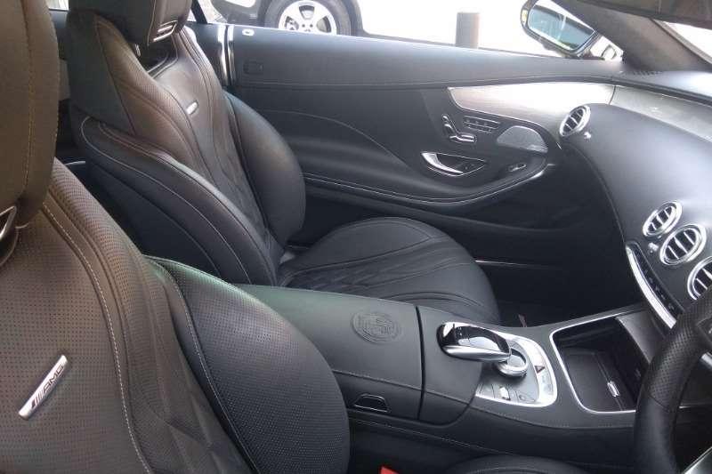 Mercedes Benz S Class S63 cabriolet 4Matic 2016