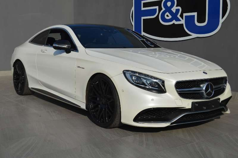 Mercedes Benz S Class S63 Coupe 2015