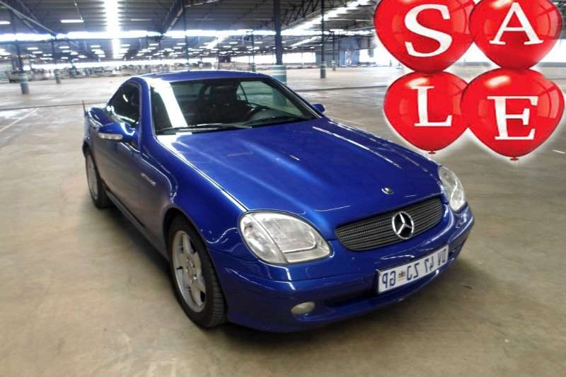 Mercedes Benz SLK 200 Kompressor 2001