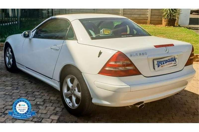 Mercedes Benz SLK 320 AT 2001