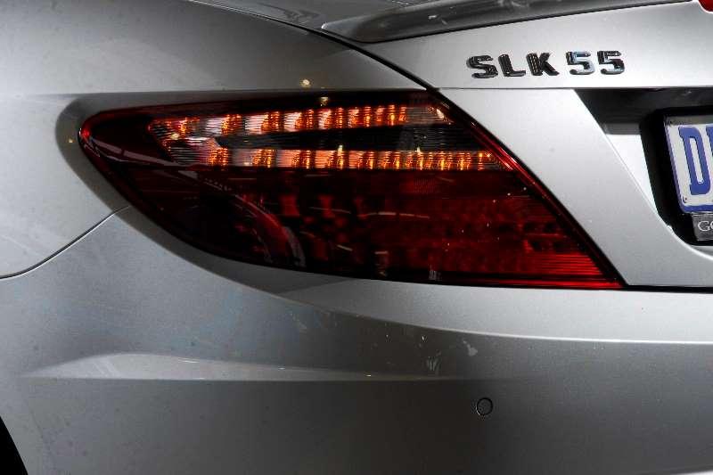 Mercedes Benz SLK 55 AMG Convertible Auto 2012