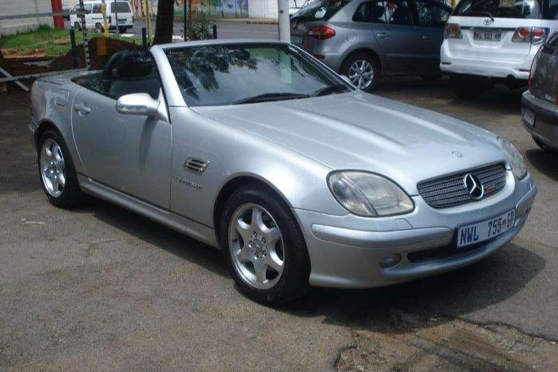 2002 Mercedes Benz SLK