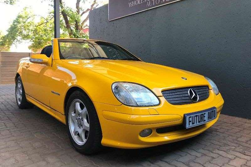 2001 Mercedes Benz SLK 200 Kompressor