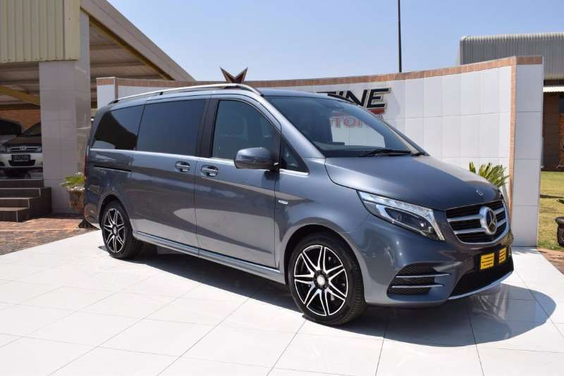 2018 mercedes benz v class v250 bluetec avantgarde amg a t. Black Bedroom Furniture Sets. Home Design Ideas