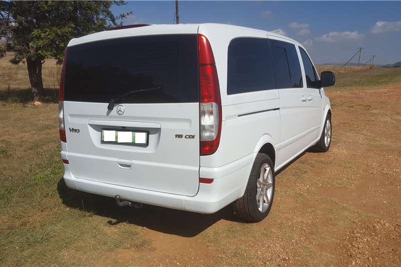 2008 Mercedes Benz Vito 115 CDI 2.2 crew bus XL Multi purpose vehicle ( RWD ) Cars for sale in ...