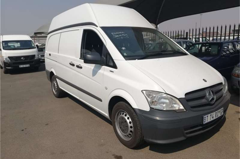 824b5c6940f581 2012 Mercedes Benz Vito 115 CDI 2.2 panel van high roof Panel van ...