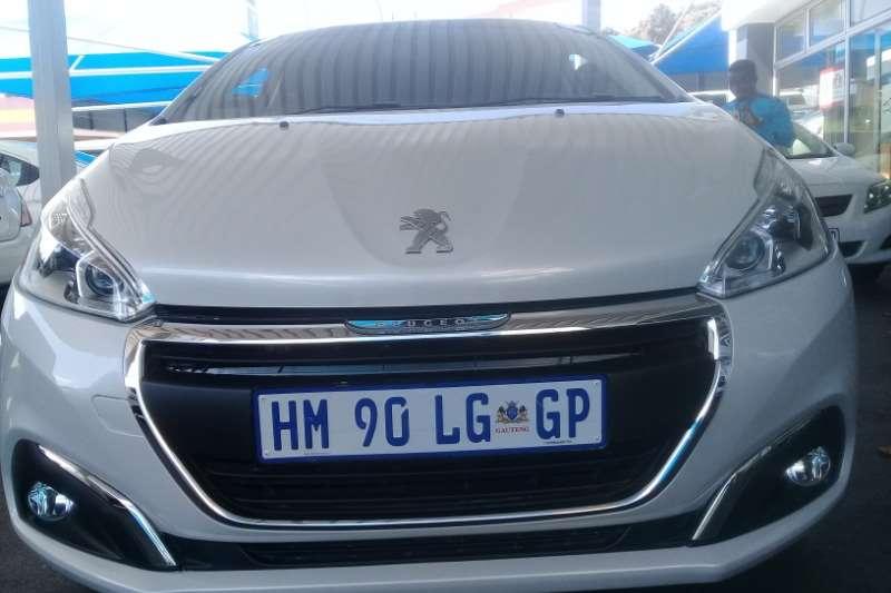 2018 peugeot 208 hatch 5-door 208 1.2t puretech gt line a/t 5dr