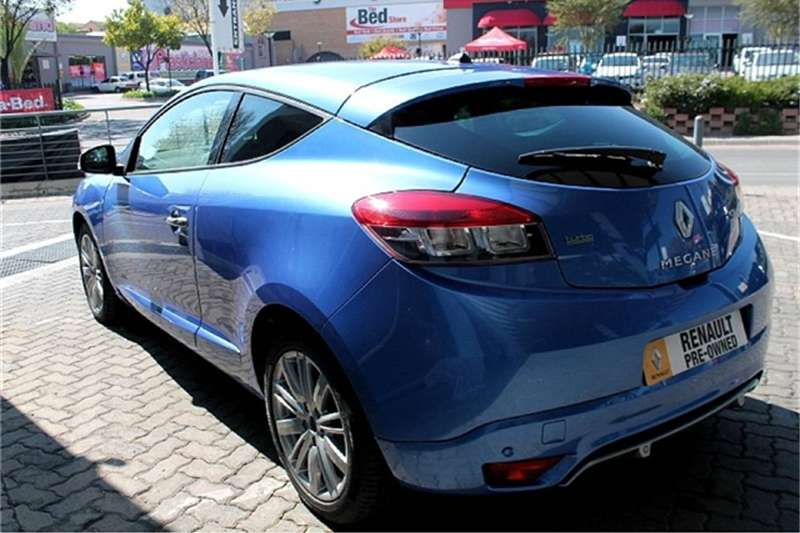 Renault Megane Coupe 97kw Turbo Gt Line 2017