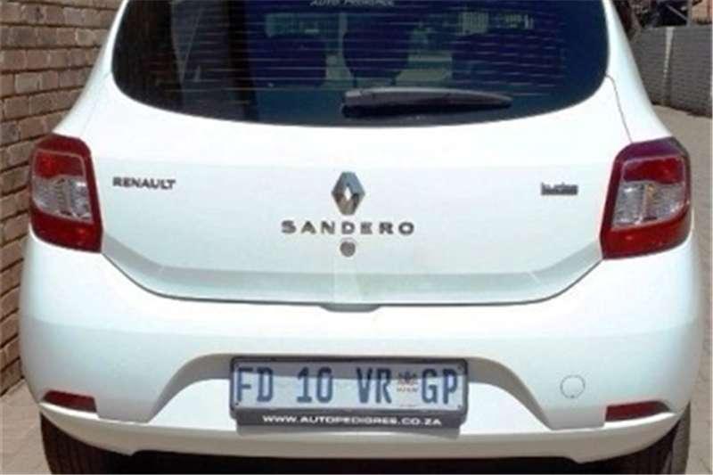 Renault Sandero 66kW turbo Expression 2016