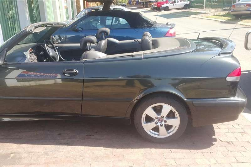 Saab 9 3 Convertible 20t Linear 2002