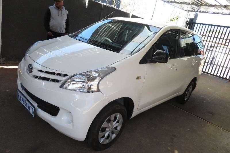 Toyota Avanza 1.3 S 2014