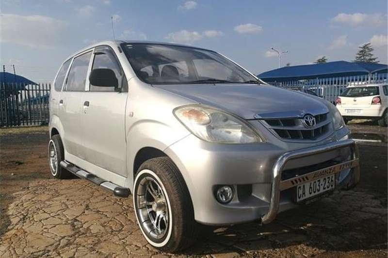 Toyota Avanza 1.3 SX 2008