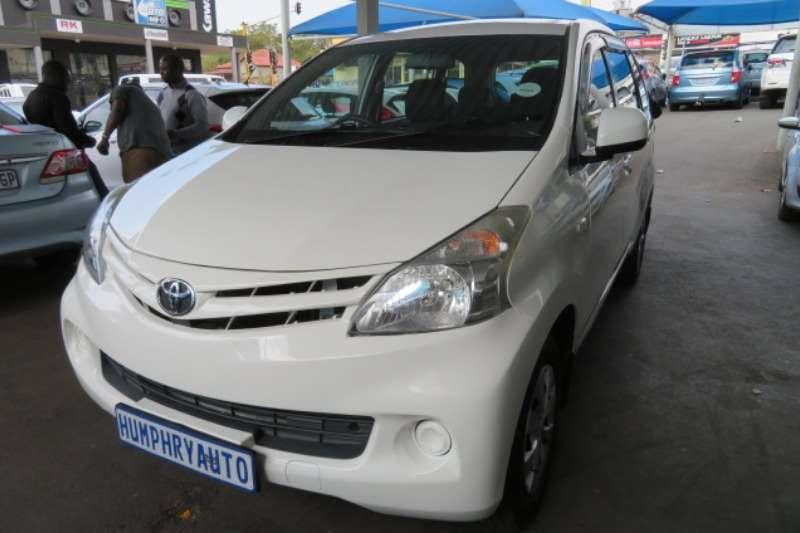 Toyota Avanza 1.3 SX 2013