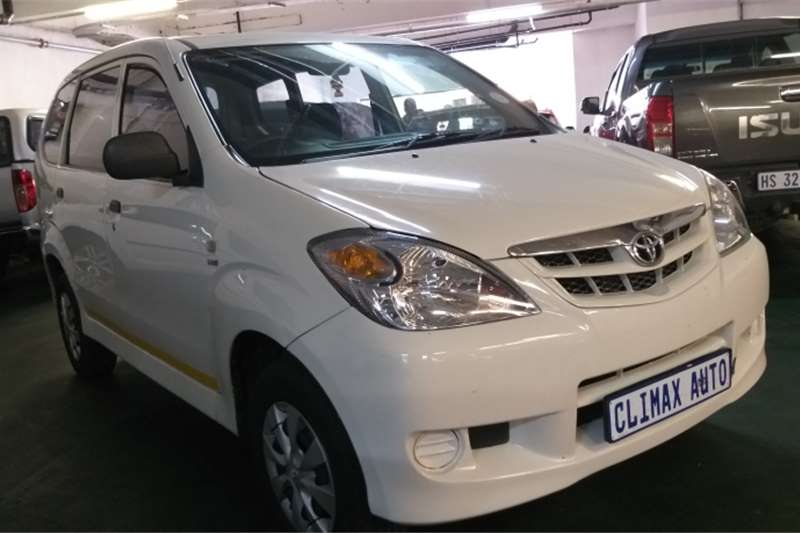 2011 Toyota Avanza