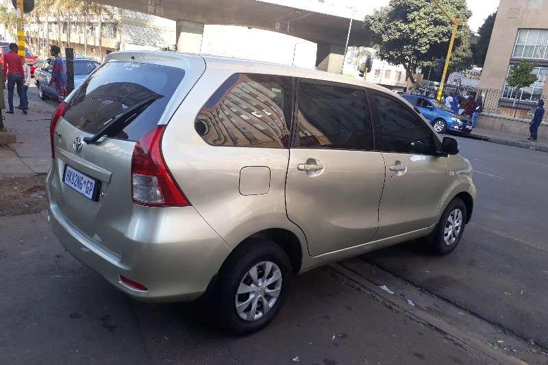 Toyota Avanza 1.5 SX 2013